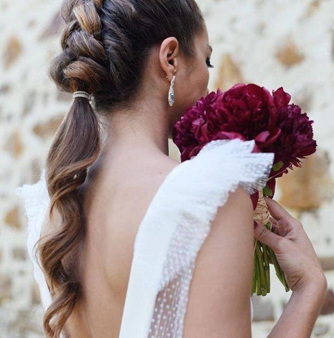adff18dec Peinados de novia 2019  ¡más de 90 propuestas muy TOP! Image  19 ...