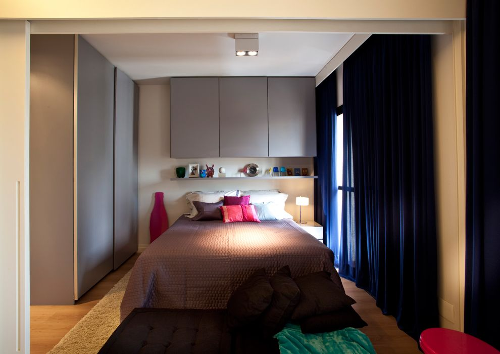petit appartement optimis par un architecte d 39 int rieur la chambre deco pinterest petits. Black Bedroom Furniture Sets. Home Design Ideas