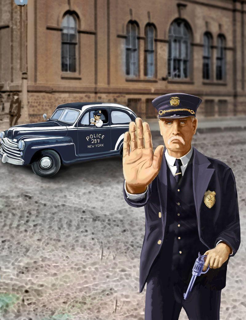 Police-officer by Erebus74.deviantart.com on @deviantART