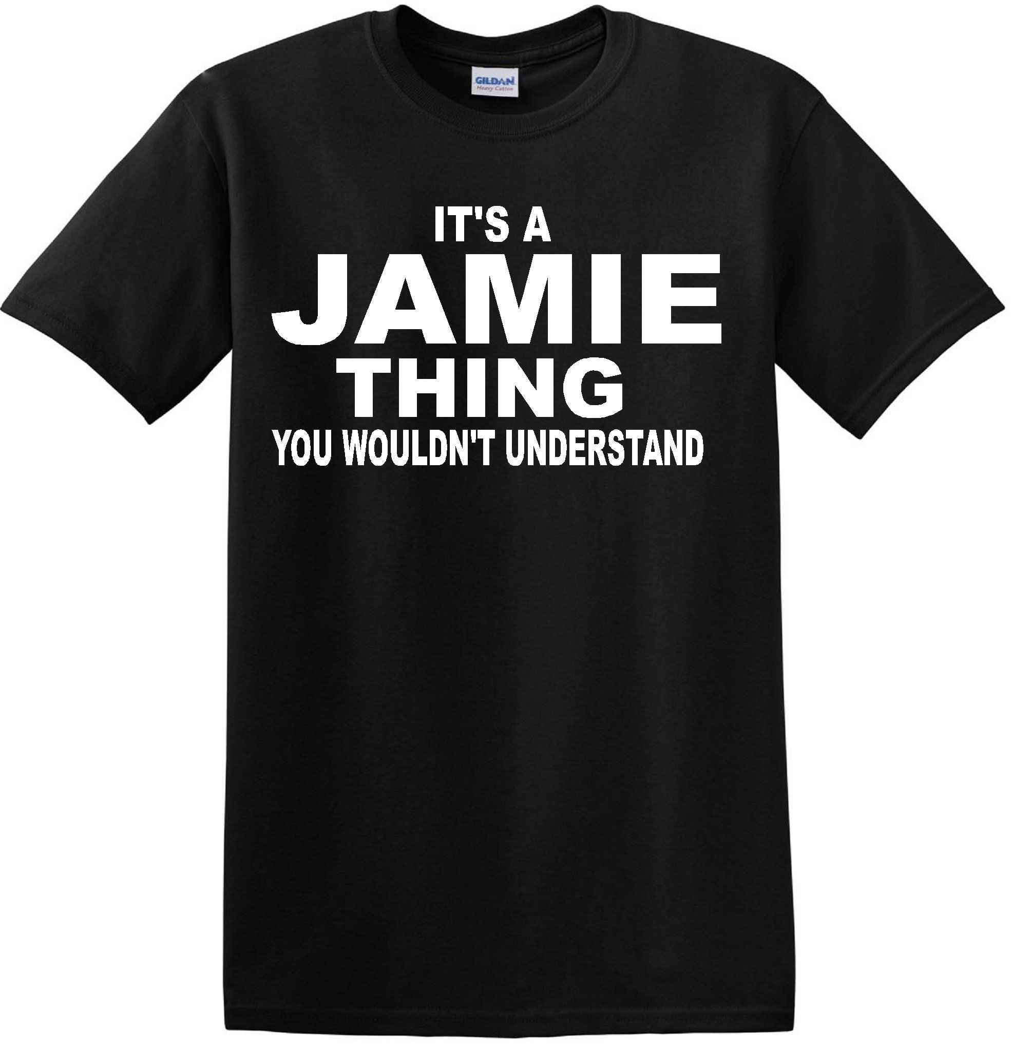 "JAMIE ""THING"" BLACK T SHIRT (LARGE) -- Awesome products selected by Anna Churchill"