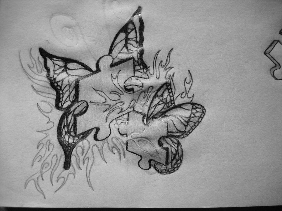 Lyric puzzle pieces lyrics : Girly Puzzle Pieces Tattoo Ideas | Puzzle Tattoo Design by xx-gem ...