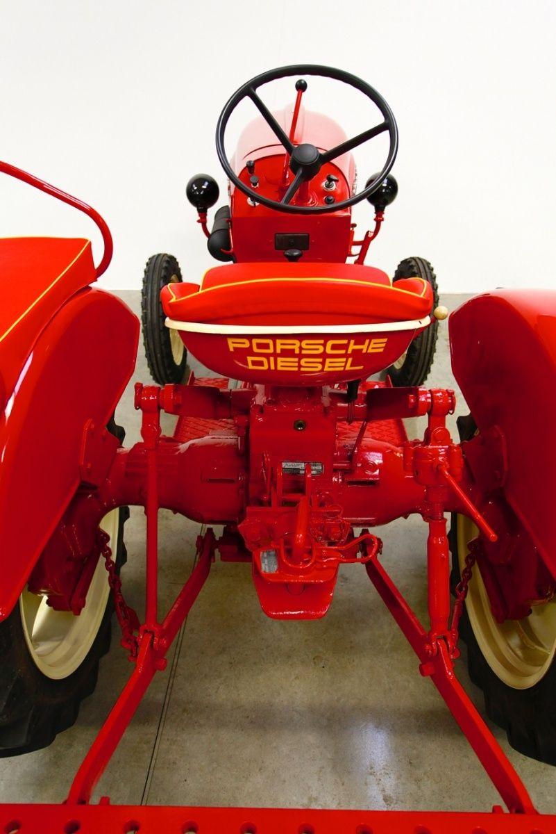 1963 Porsche Tractor Diesel Junior 109 Classic Driver Market Porsche Traktor Traktoren Oldtimer Traktoren