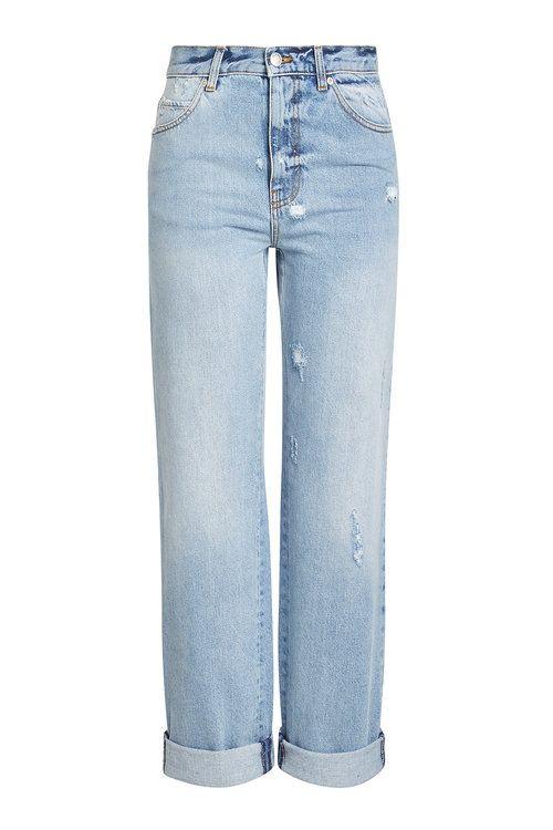 cropped wide-leg jeans - Blue Alexander McQueen VTGG7qb3LL