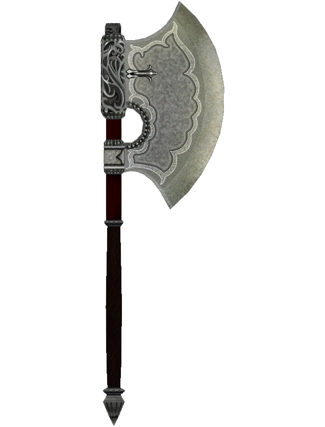 Fine Steel Battle Axe Battle Axe Axe Cool Swords