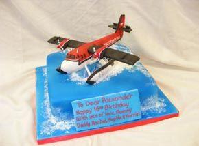 Seaplane Birthday Cake Derek ideas Pinterest Birthday cakes