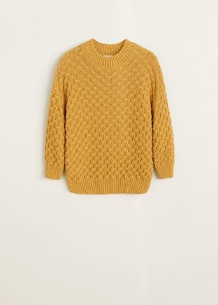 Pullover strickpullover H&M 68 weiß blau