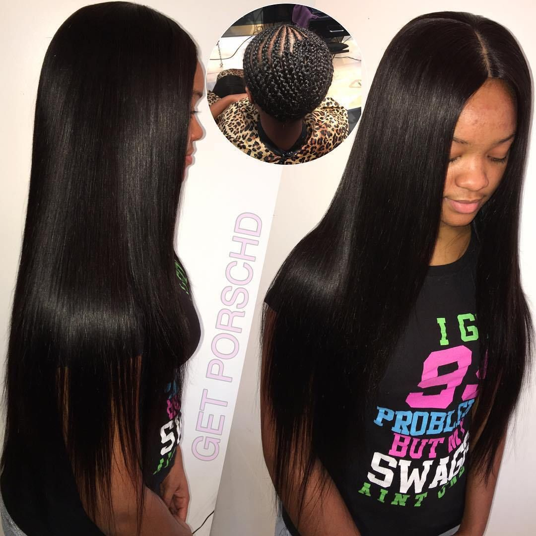 Sew Hot 40 Gorgeous Sew In Hairstyles Sew In Hairstyles Long Weave Hairstyles Hair Styles