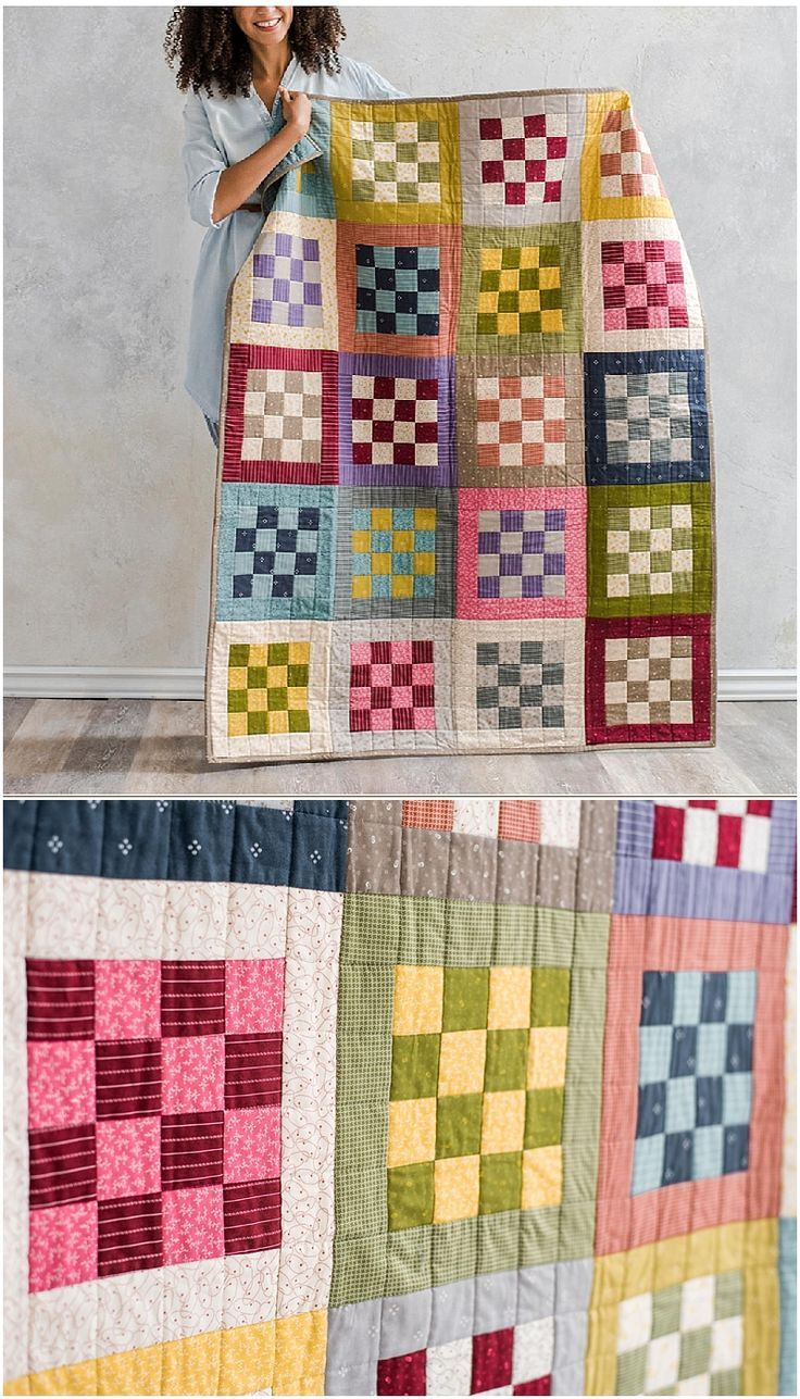 Checkerboard Tailors Tack Quilt By Craftsy Jelly Roll Strip Quilt