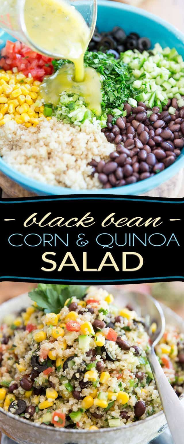 Photo of Black Bean Corn and Quinoa Salad