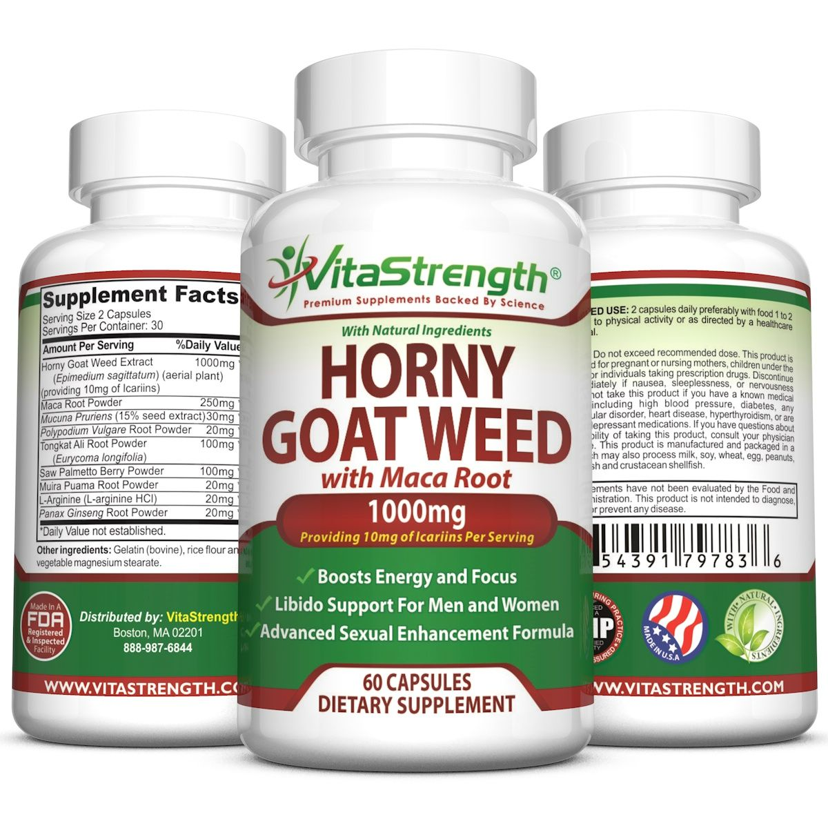 Premium Horny Goat Weed With Female and Male Enhancement Herbs - Complete  Formula Of Horny Goat Weed Extract, Maca Root, Ginseng, Saw Palmetto &  Tongkat Ali ...