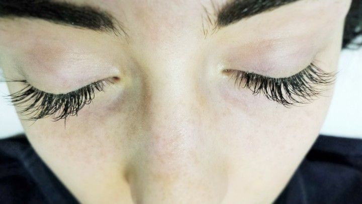 Eyelash Extensions by Nicole Youngblood.  Click to book your appointment with her today!
