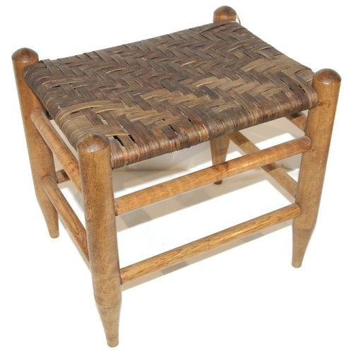 Basket Weave Foot Stool or Childs Stool.  Or a place for the cat to sleep!
