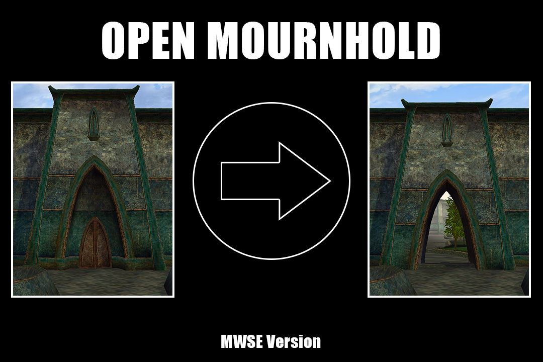 Open Mournhold at Morrowind Nexus - mods and community | My