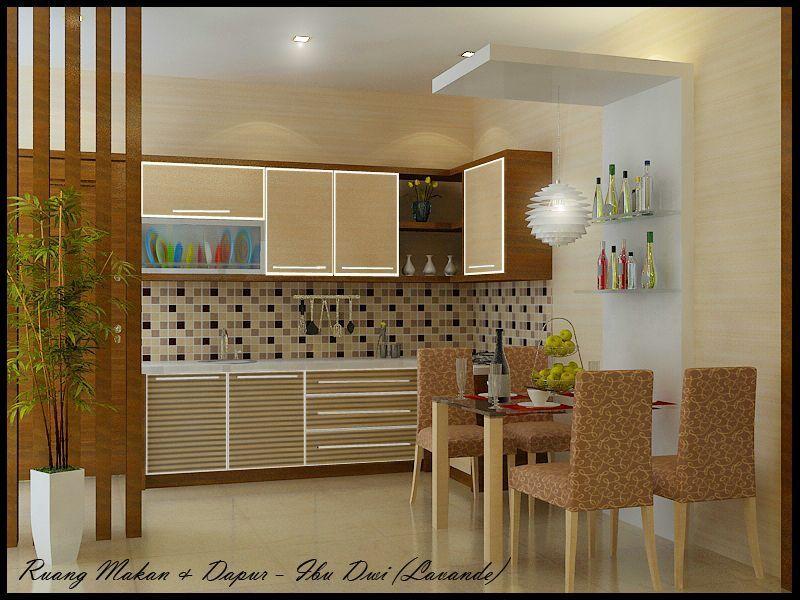 tata ruang dapur rumah minimalis