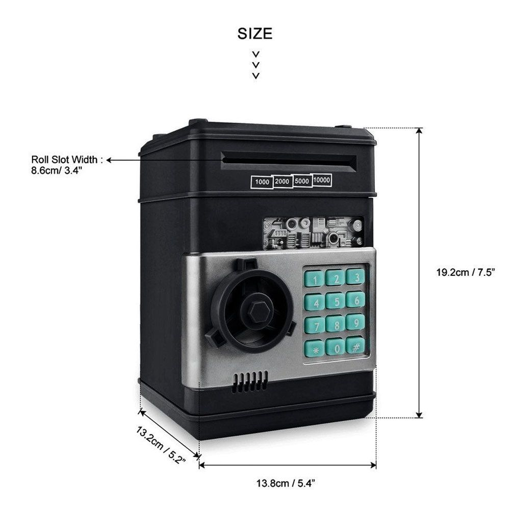 Piggy bank deposit box cash coin savings in 2020