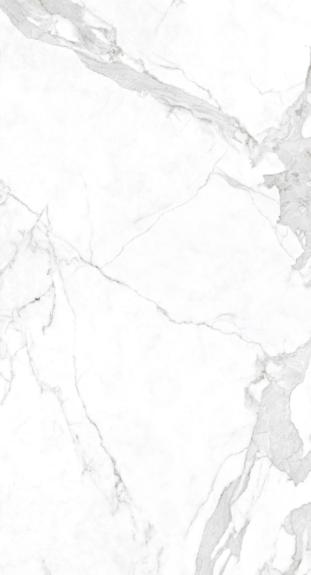 White Marble Tumblr : Neolith polished calacatta slab countertop stainproof