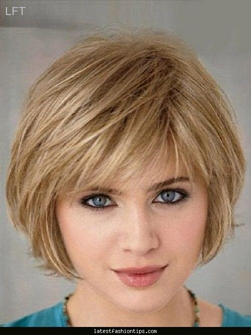 Short hairstyles for thin hair - http://www.latestfashiontips.com ...