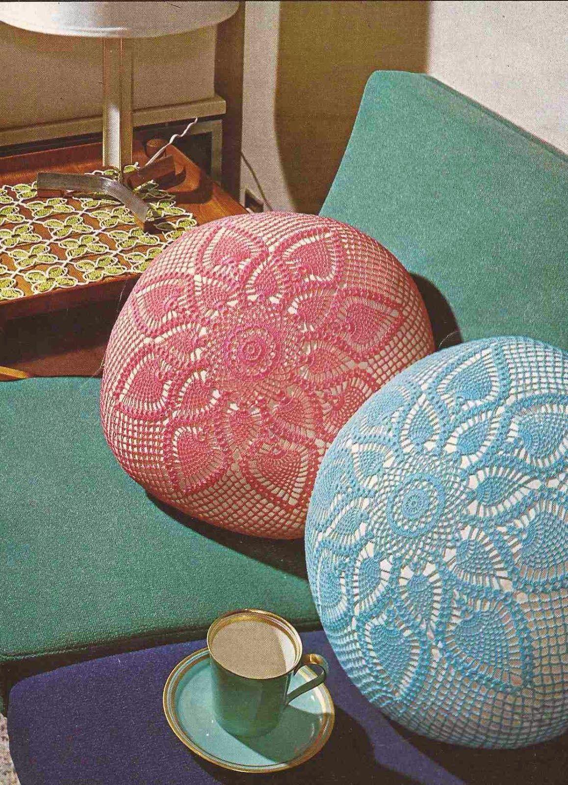 Cojín y Tapete a Crochet | Decoración del Hogar | Pinterest ...