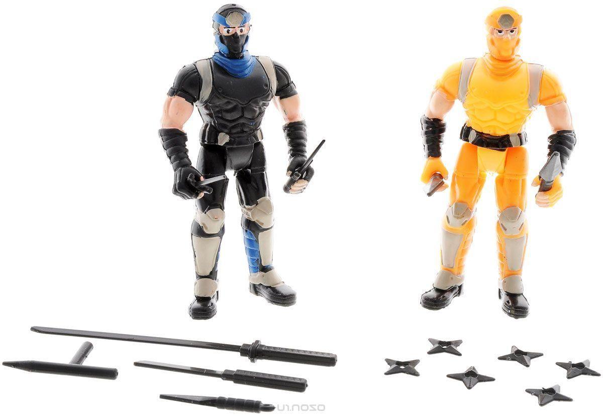 Manley Игровой набор Ninja Battle цвет оранжевый черный
