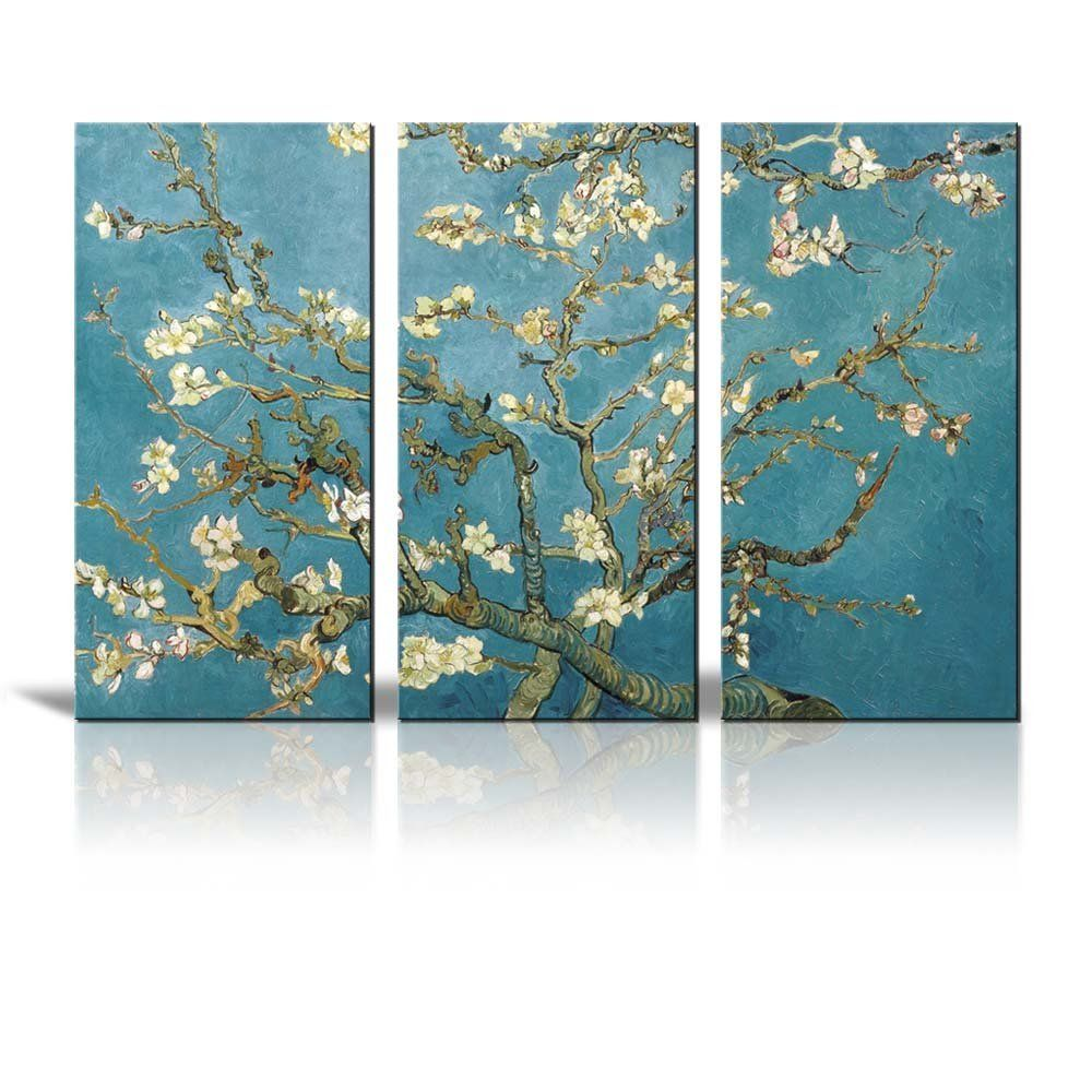 Amazon.com - Wall26 - Canvas Print Wall Art - Almond Blossoms by ... for Almond Blossom Van Gogh Poster  155fiz