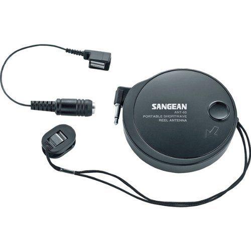 Retractable/Rewindable External Antenna by Sangean. 11.11