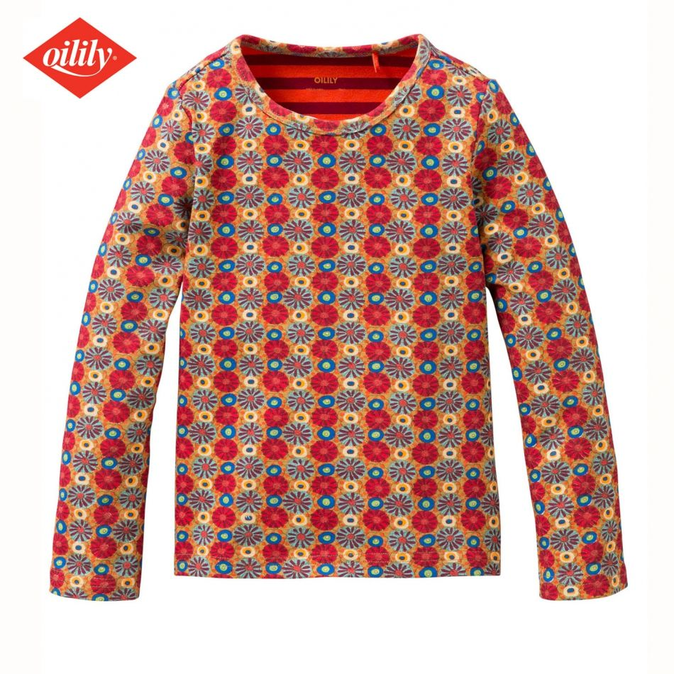 Oilily Shirt Grafic Flower - now 50% discount - Oilily winter collection 2013 - https://www.simplydutch.com/girls-clothes/shirts/oilily/4302/shirt-grafic-flower/