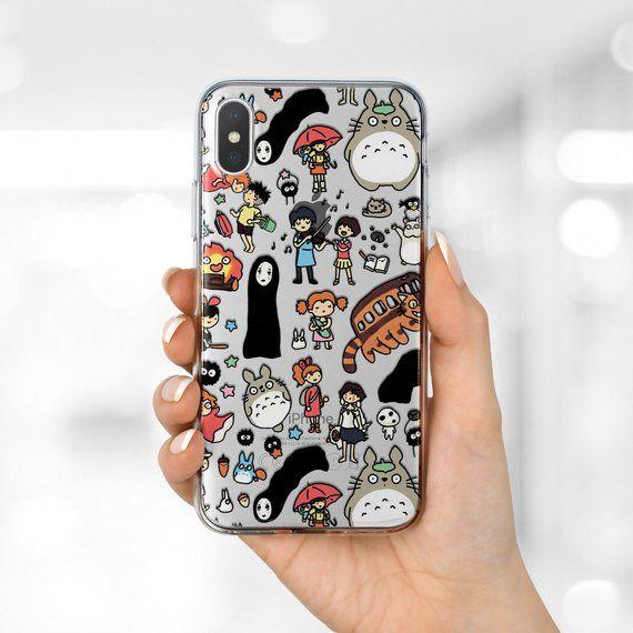 Anime case iPhone 8 case Studio Ghibli Samsung S8 case iPhone 7 ...