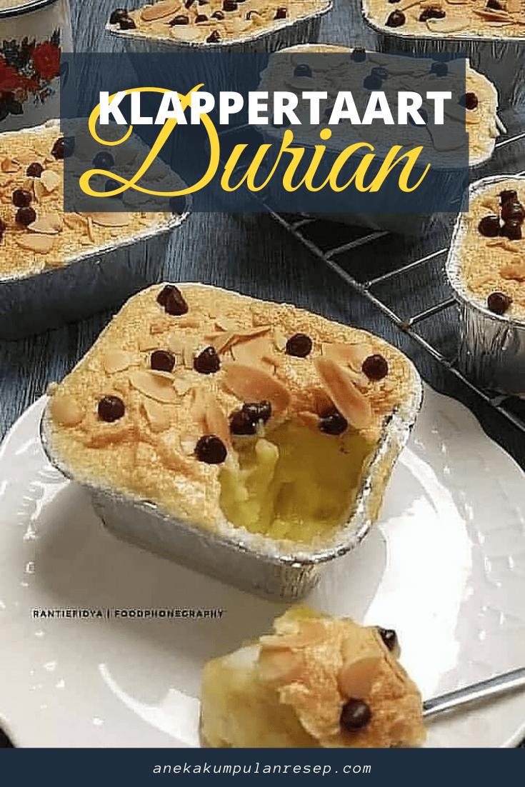 Resep Klappertaart Durian Aneka Kumpulan Resep Resep Makanan Ide Makanan Resep