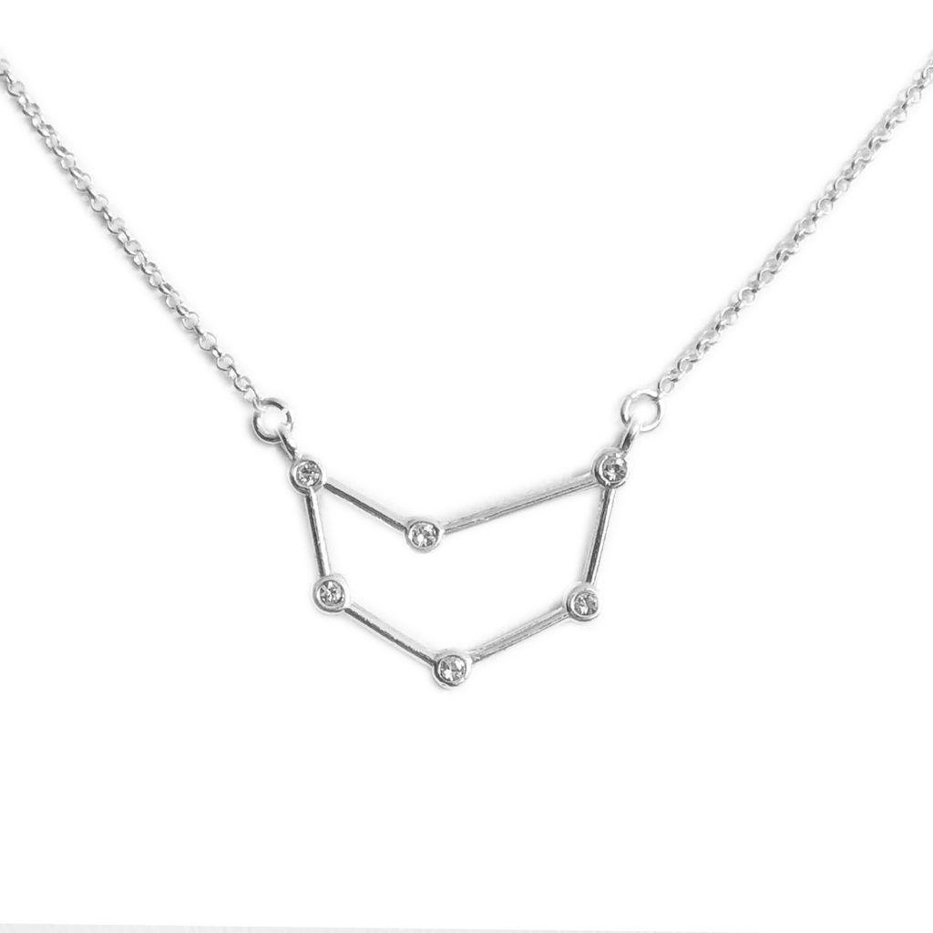 Naszyjnik Znak Zodiaku Koziorozec Sklep Stylizacje Tv Necklace Silver Necklace Jewelry