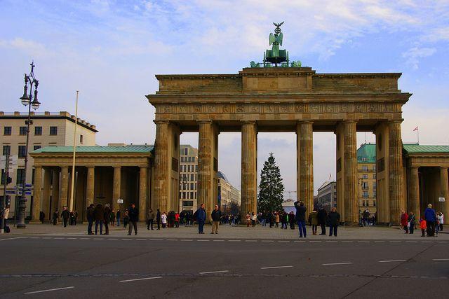 Brandenburger Tor Berlin Germany Places