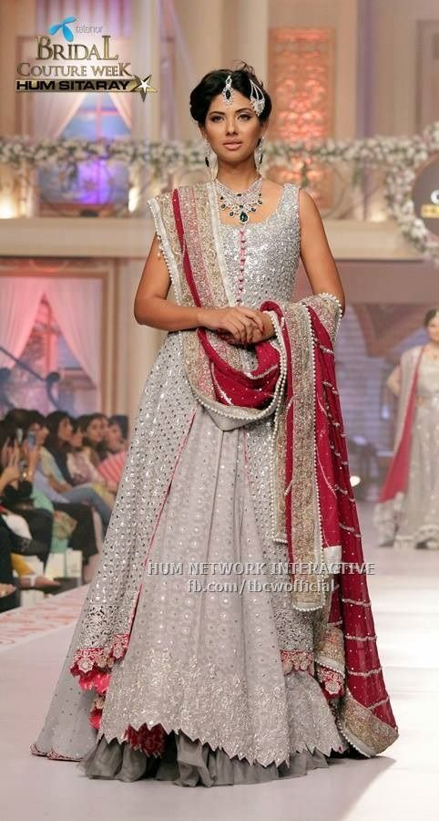 Pakistani couture dress by asifa and nabeel. bridal couture week ...