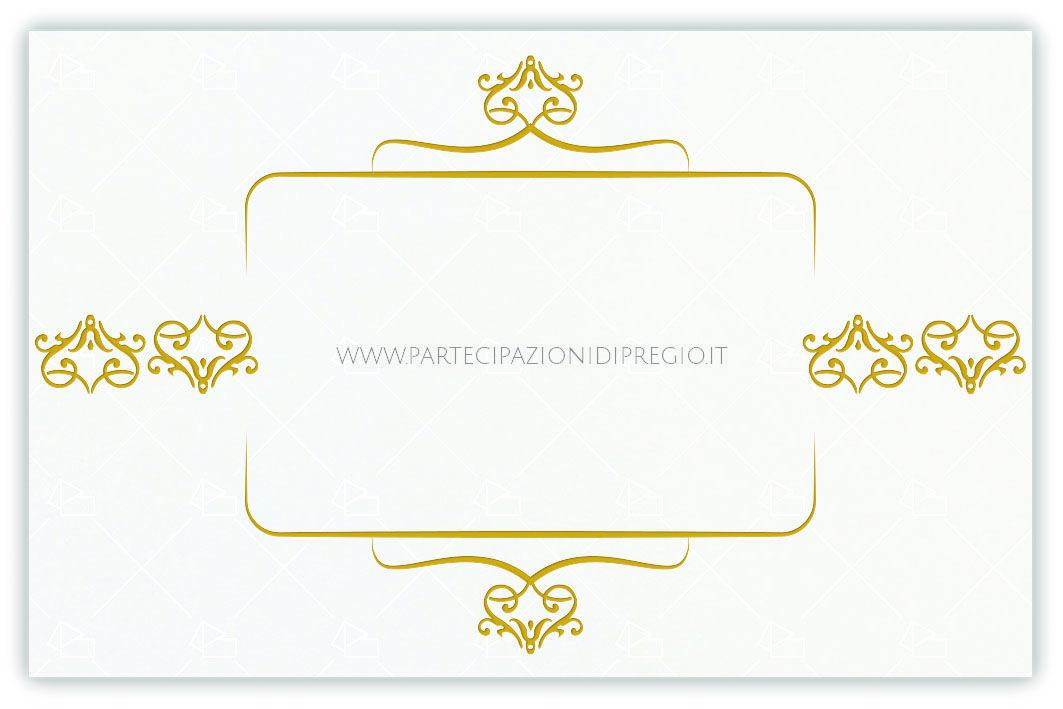 Partecipazioni matrimonio dimensione 17 x 11 forma
