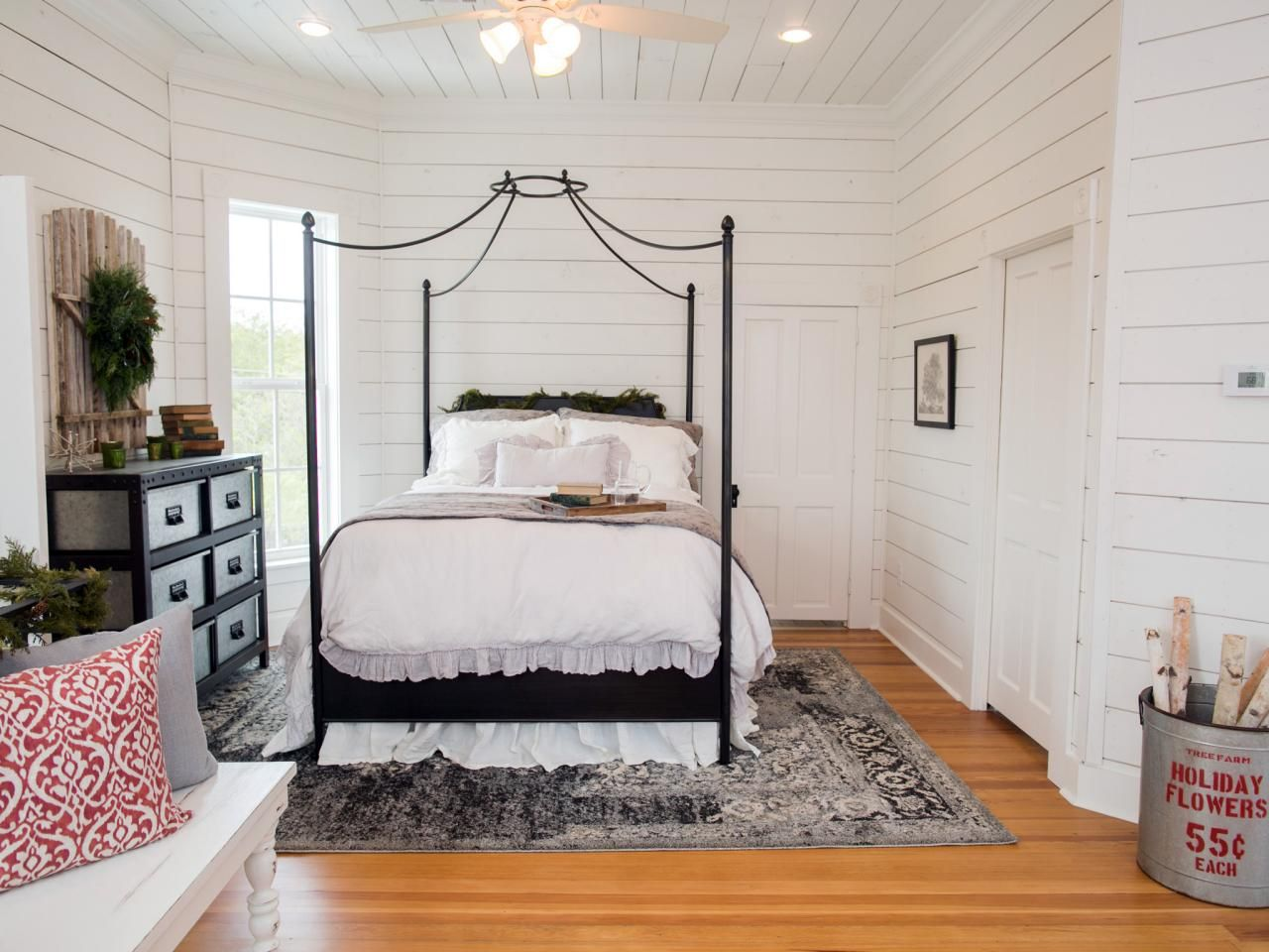Joanna gaines master bedroom bedding  Find the best of Fixer Upper from HGTV  Decorating General
