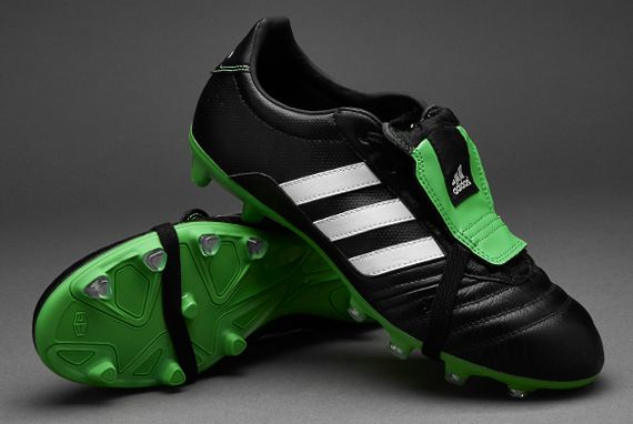 uk availability ca474 cfac7 adidas Gloro 15.1 - Core Black White Vivid Green
