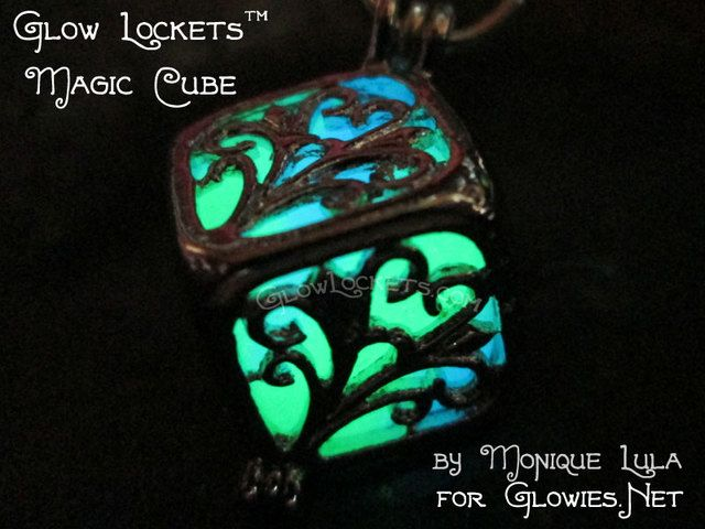 Glow Lockets™ Magic Cube. Starting at $1 on Tophatter.com!