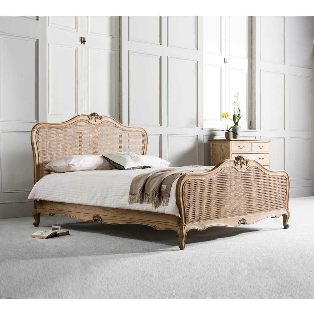 Montgomery Rattan Bed Bed styling, King bed frame