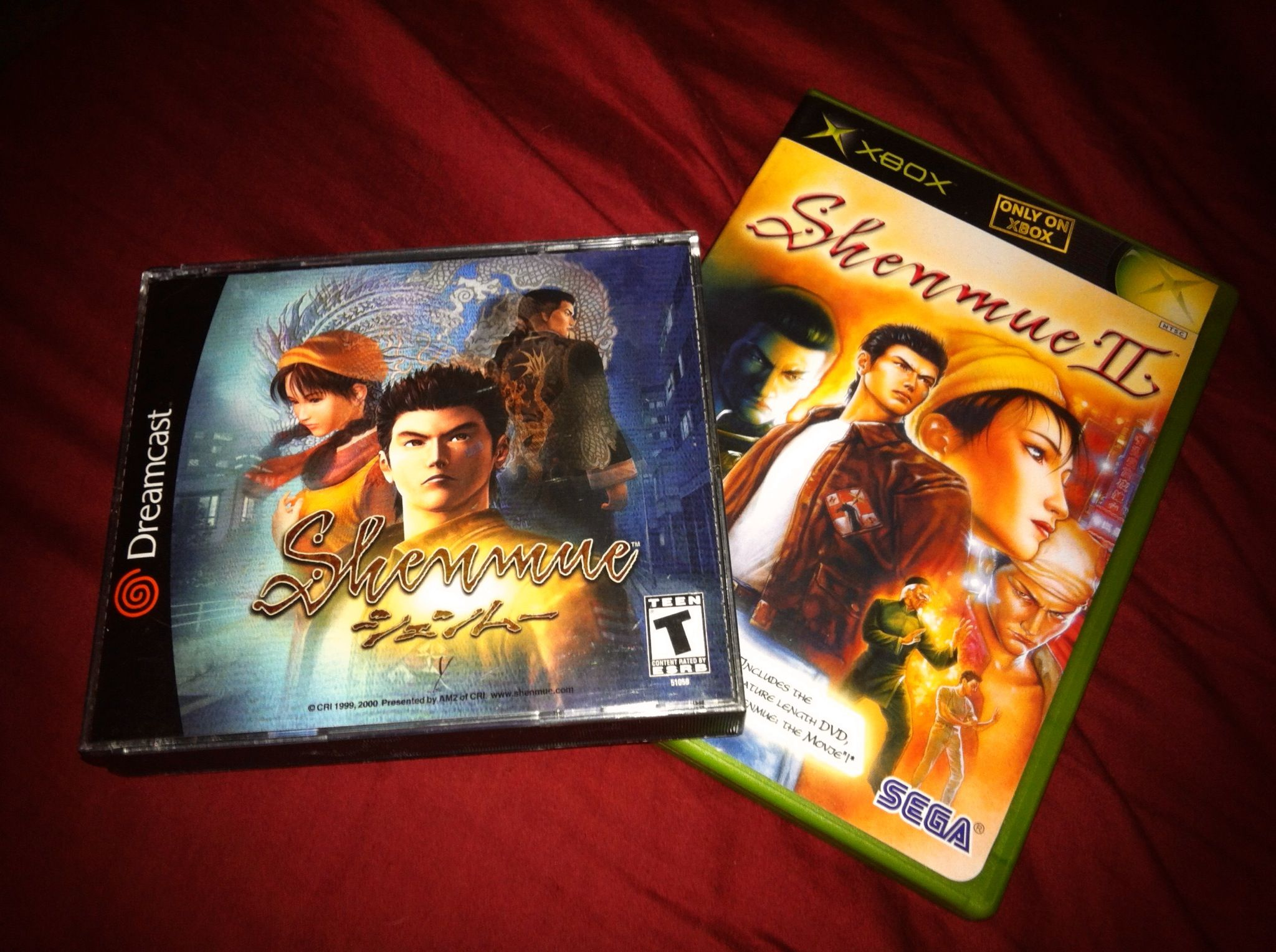 Shemnue and Shenmue II  http://www.kotaku.com.au/2012/01/yu-suzuki-is-still-talking-about-shenmue-3/  I'm one of those poor people waiting for the third installment to this series. Come out already!