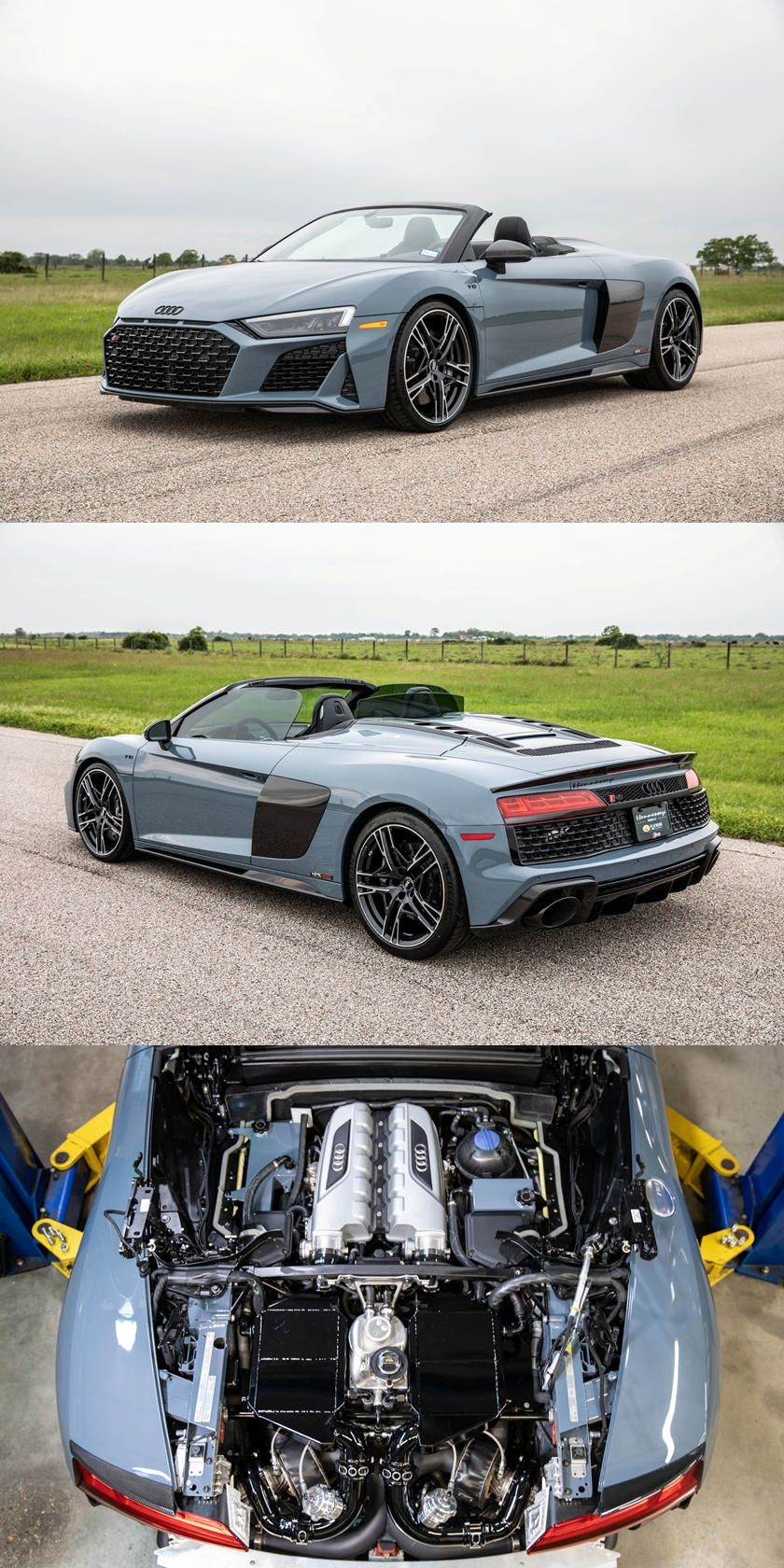 Audi R8 V10 Transforms Into 912 Hp Guided Missile Because The Package Costs More Than A Shelby Gt500 In 2020 Audi Audi R8 V10 Audi R8