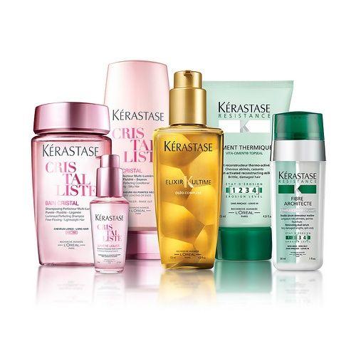 Kerastase products...my favorite not shown AGE PREMIUM ...
