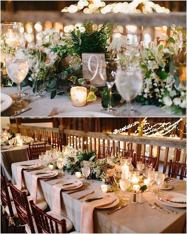 Country Wedding Reception Ideas: This Massachusetts Wedding Is Rustically Elegant