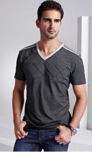 82a9242bfd6c1 Camiseta Cuello V