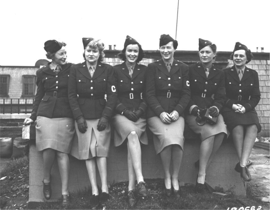 Members of the Army Nurse Corps during WWII.