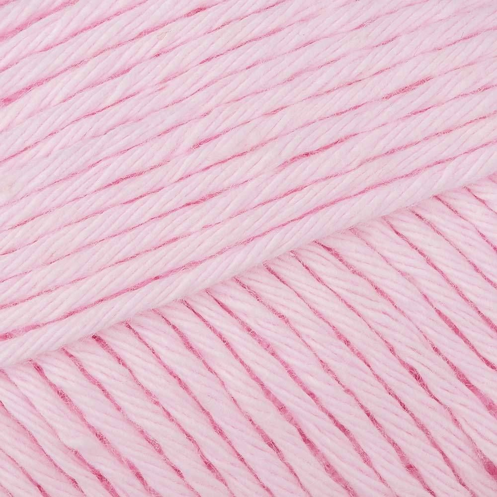 Paintbox Yarns Cotton Aran - Candyfloss Pink (650) - For a massive range of rainbow colors, the Paintbox Cotton Aran yarn will not disappoint. Ideal for knitting clothes for the kids, for grown-ups as well as home textiles, this bold, machine-washable worsted weight yarn has as many uses as your imagination can stretch to.. SKU: .