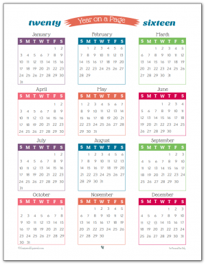 Personal Planner  Free Printables  Printable Calendars Planners