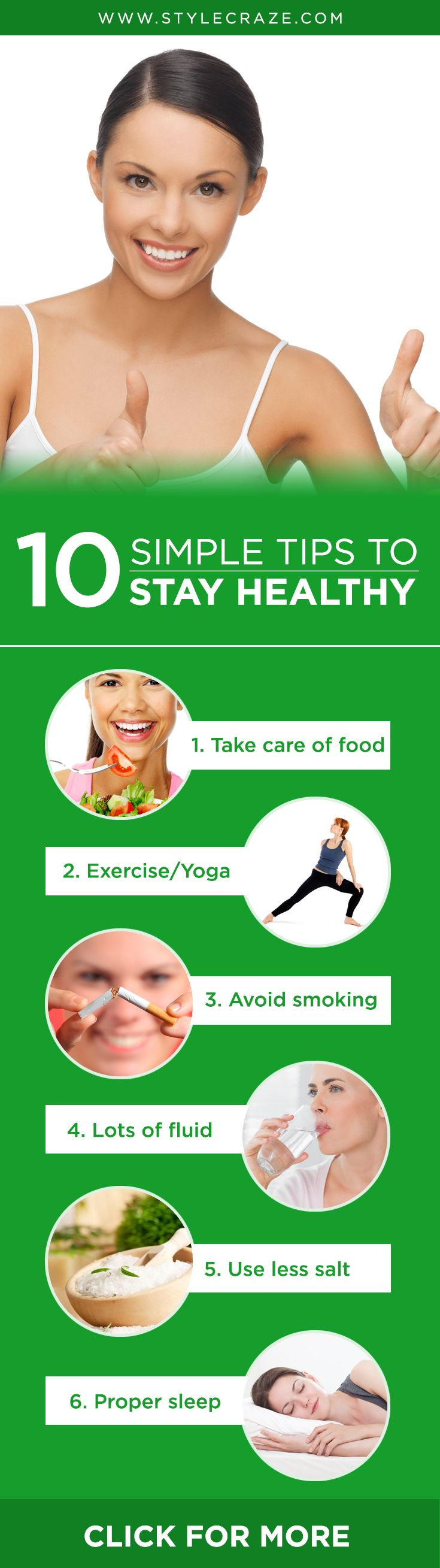 Health Is Wealth: 16 Simple Tips To Stay Healthy