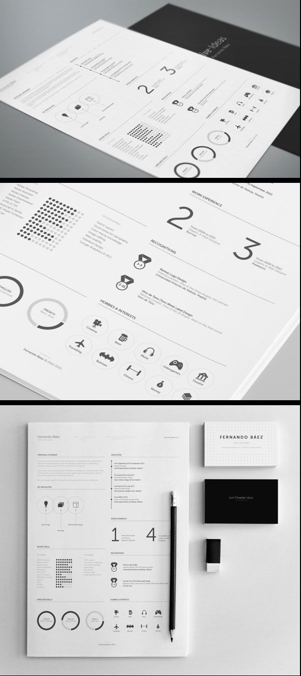 15 Free InDesign PSD Resume Cover Templates