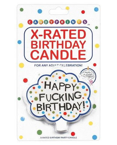 Our New X Rated Birthday Candle Will Enliven Any Adult Birthday