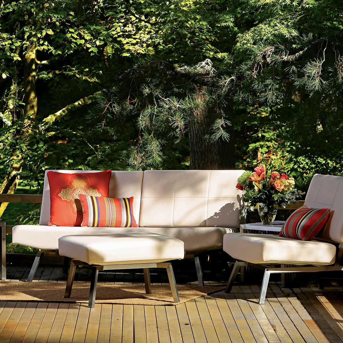 faux leather outdoor furniture thos