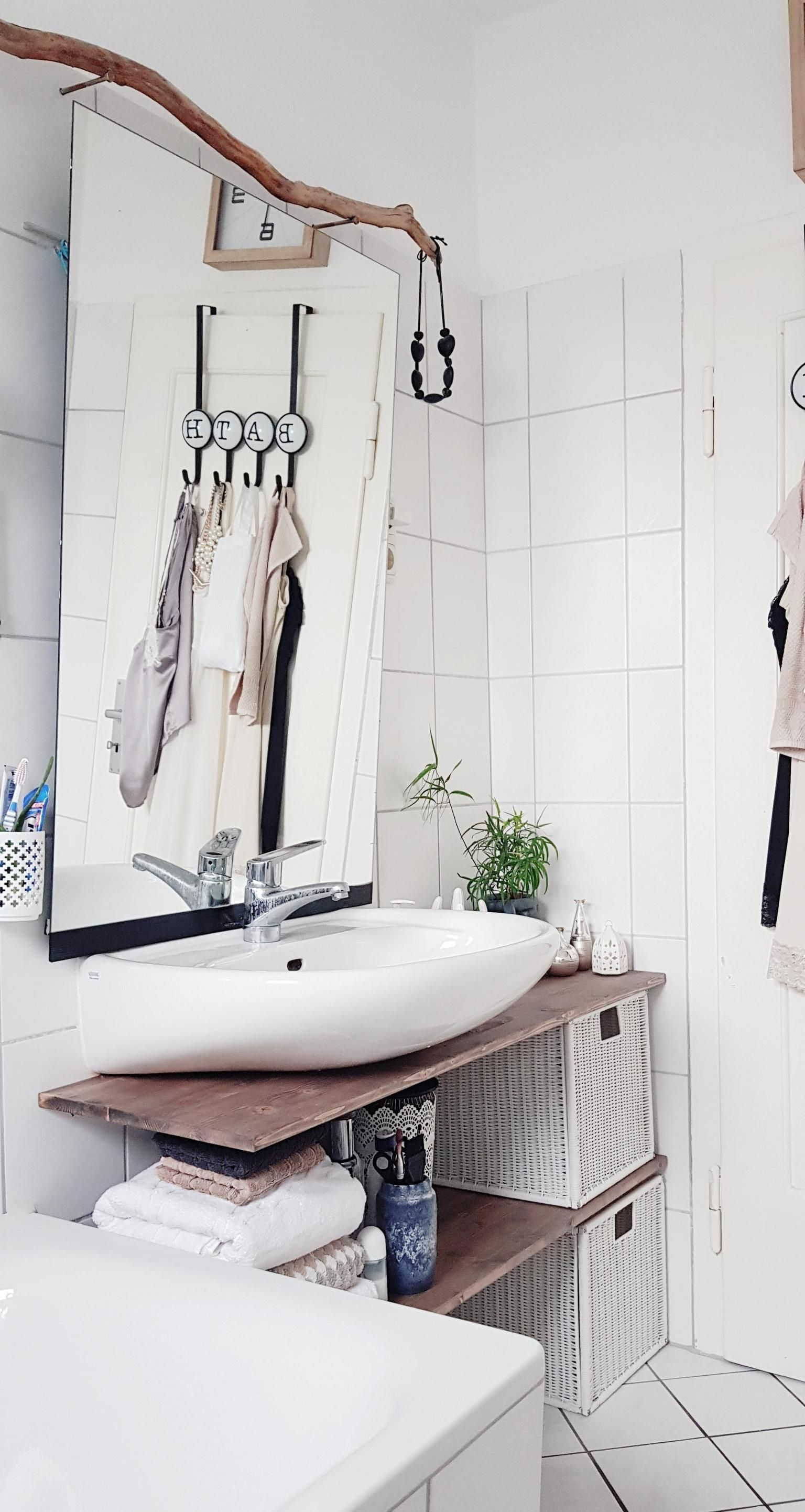 Kleinraum Minibad Badezimmer Diy Regal Badezimmer Gunstig Diy