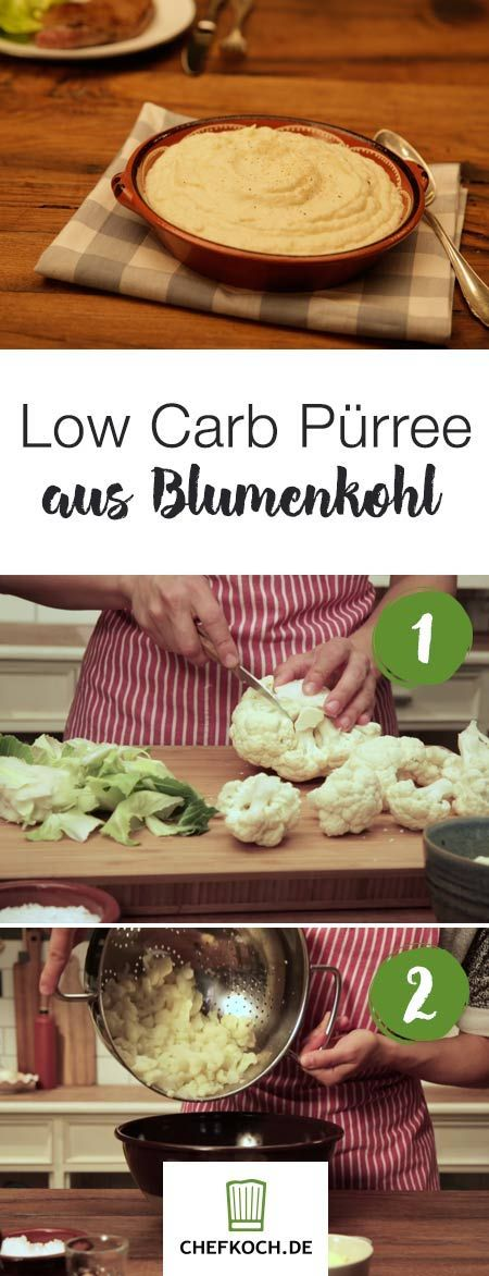 Photo of Low carb puree made from cauliflower Chefkoch.de video